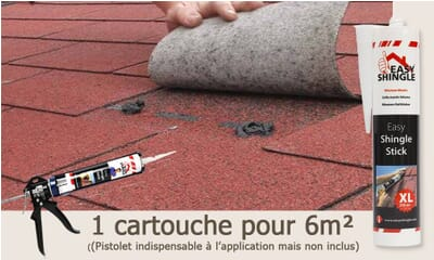 Colle à bardeau Easy Shingle Stick 310Ml